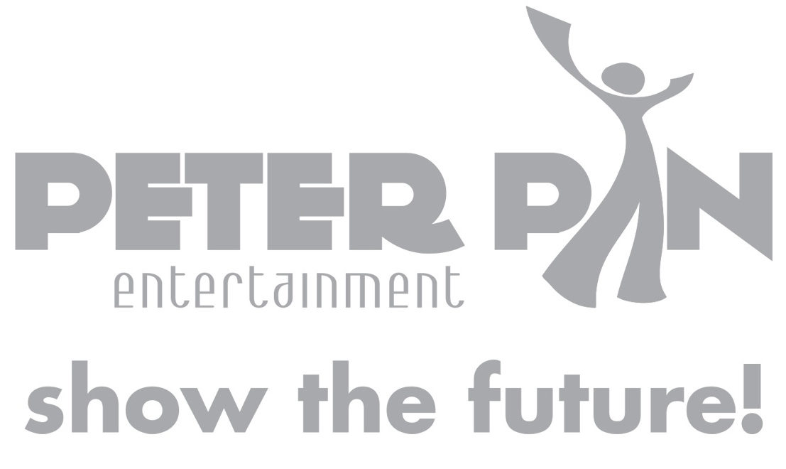 LOGO peter pan entertainment SHOW THE FUTURE